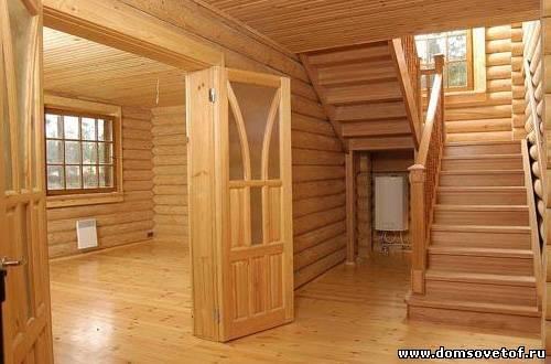 устройство перегородок в деревянном доме