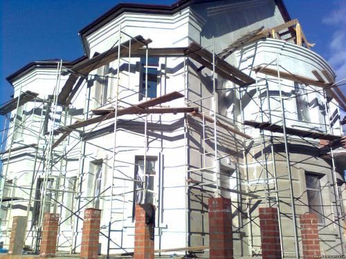 мокрые фасады монтаж