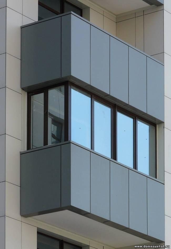 Необычное остекление балкона.