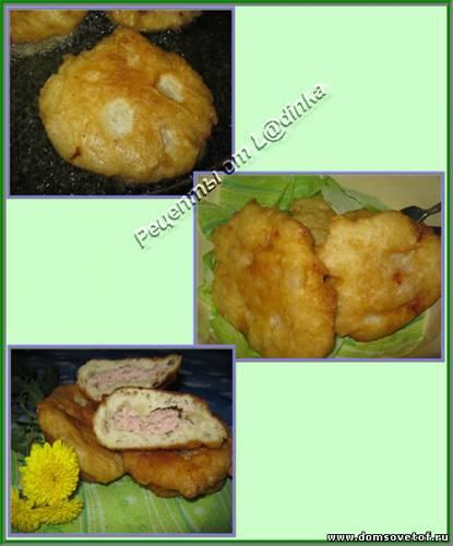 Беляши (пирожки) с мясом. Рецепт приготовления