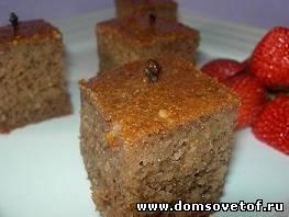 Ореховый пирог по-гречески