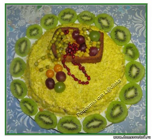 салат из авокадо и курицы рецепт с фото очень вкусный с