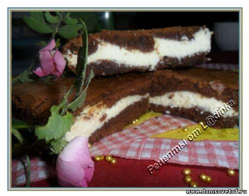рецепт диетический пирог с творогом #12