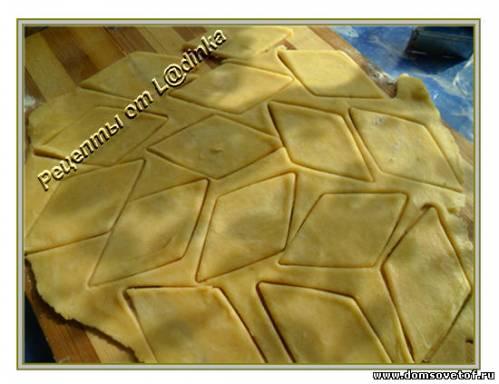 Печенье с сыром. Рецепт с фото. Соленое печенье