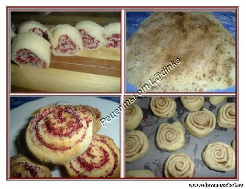 Выпечка из творога рецепты с печенье