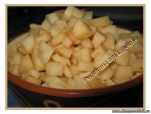 Картофель Хунон - приготовление рулета