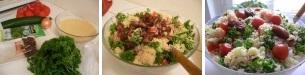 Салат с манной крупой