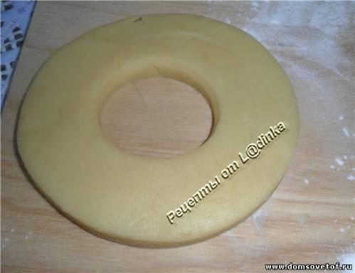 Песочные кольца с орехами. Пошаговый фото-рецепт
