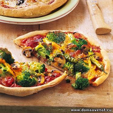Как приготовить итальянскую пиццу в