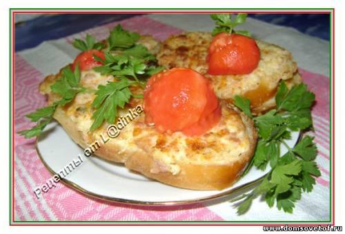 Бутерброды. Рецепты бутербродов