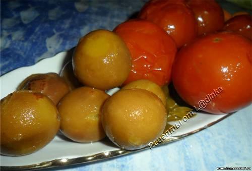 Помидоры на зиму. Консервированные помидоры