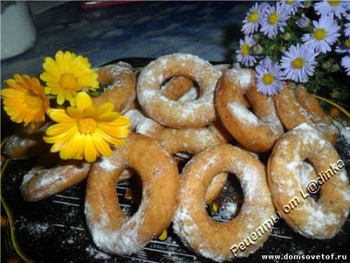 Творожные пончики. Рецепт с фото