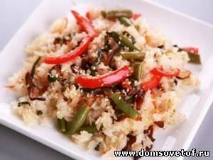 Французский салат с рисом
