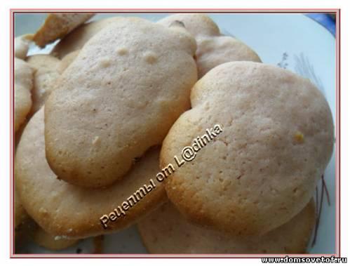 Печенье из киселя. Пошаговый рецепт с фото