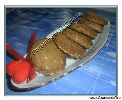 Печенье из овсяных хлопьев. Рецепт с фото. Овсяное печенье Вкус шоколада