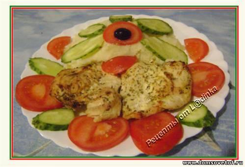 Простые вторые блюда из курицы. Рецепты с фото