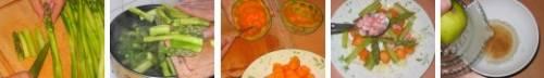 Салат из спаржи и дыни