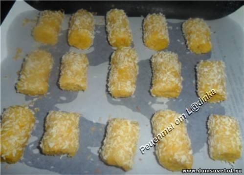 Вкусное домашнее печенье с кокосом