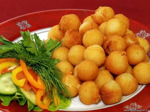 """что приготовить на ужин -На скорую руку - """"Картофельные шарики"""""""