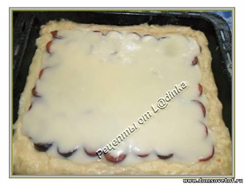 Божественный Сливовый пирог