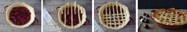 Приготовление вишневого пирога