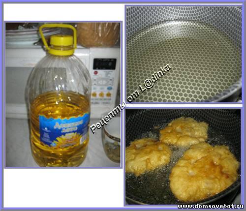 Беляши (пирожки) с мясом жареные