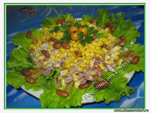 Простые и вкусные салаты на скорую руку