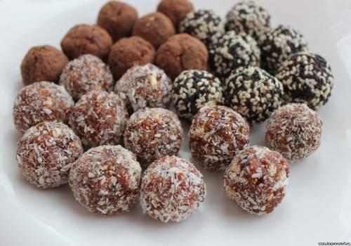 Рецепты сладостей Конфеты из сухофруктов