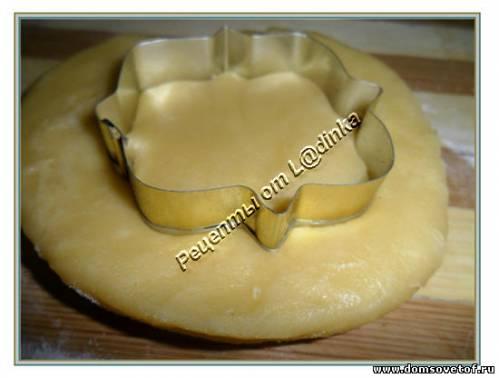 Песочное печенье к чаю Рецепт с фото