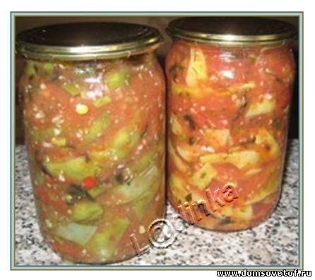 Салат на зиму рецепт с фасолью