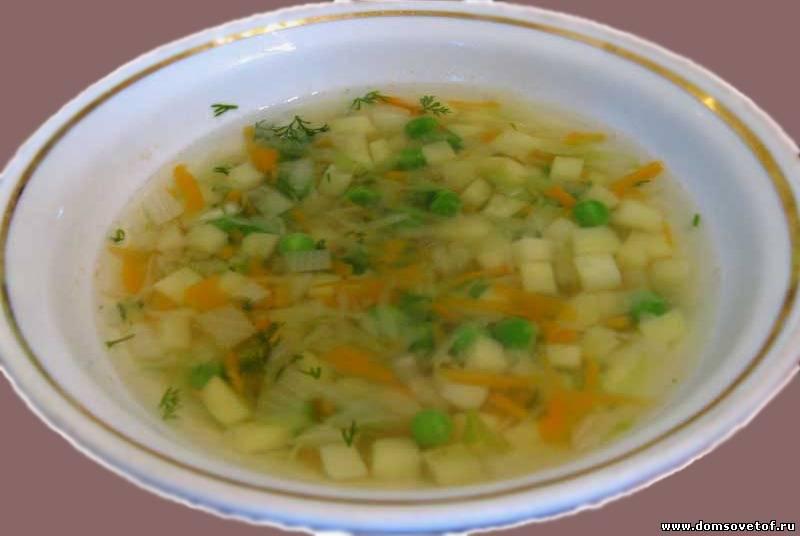 молочный суп с овощами рецепт для ребенка