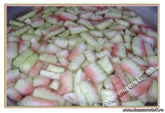 Варенье из шкурок арбуза рецепт