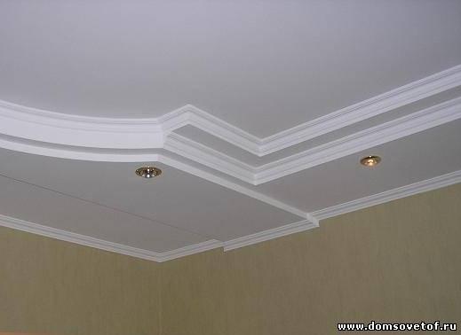 Потолок квартиры своими руками
