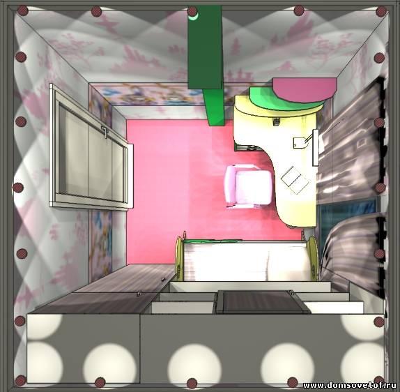 Дизайн комнаты для девочки 12 кв.м 12 лет