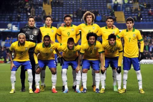 Сборная Бразилии 2014