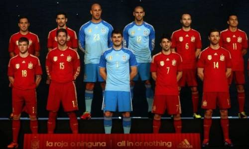 Сборная испании по футболу 2014