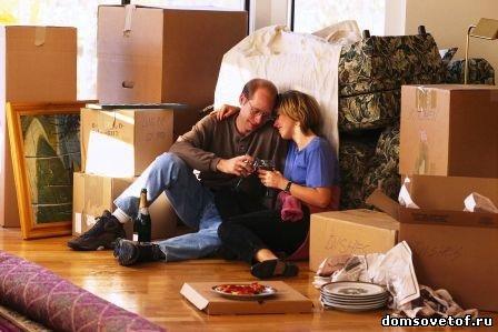квартирный переезд, организация квартирного переезда
