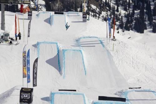 Как сделать трамплин для сноуборда видео