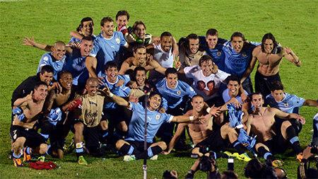 сборная Уругвая 2014