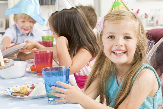 устройство детского дня рождения на природе