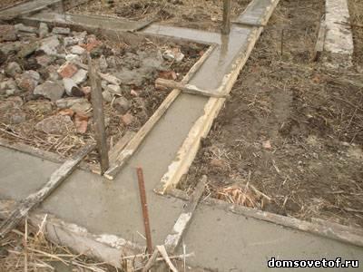 Мелко заглубленный ленточный фундамент для дома своими 7