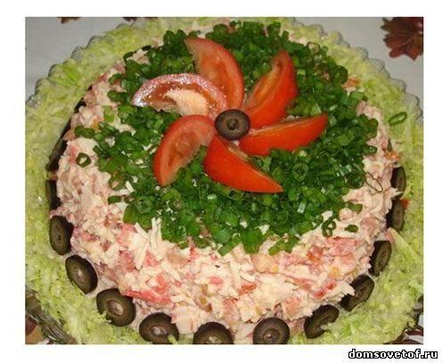 Салатов к празднику и на каждый день