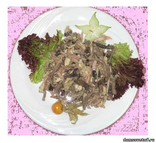 Рецепты с фото салат с креветками и