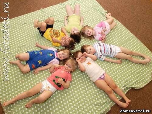 детей с 4 лет: