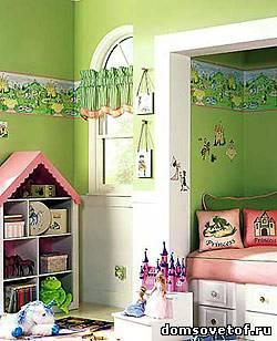 Каксделать ремонт в детской комнате