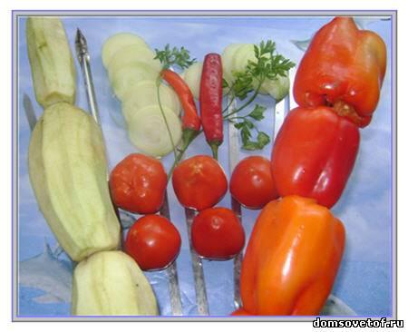 Второе блюдо с фото салат