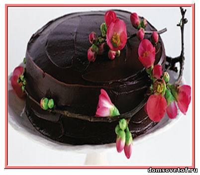 глазурь шоколадная, рецепт шоколадной глазури
