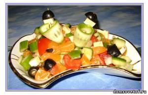 Без майонеза рецепты вкусных салатов