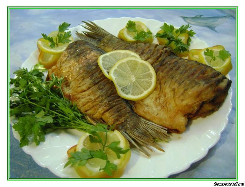 рецепт рыбы на сковороде в сметане