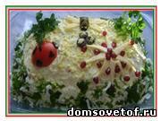 Праздничные рецепты. Салаты на день рождения, к празднику и на каждый день